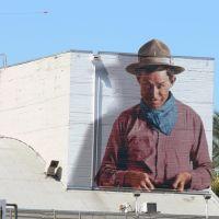 Will Rogers Mural, Сан-Бернардино