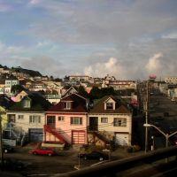 colorful houses, Сан-Бруно