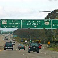 Motorways of California, USA, Сан-Бруно