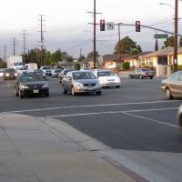 Marshall - Rosemead Intersection,Los Angeles, Сан-Габриэль