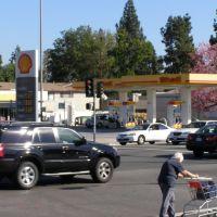 Shell Gas Station,Los Angeles, Сан-Габриэль