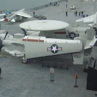 Hawkeye EC2 aboard the Midway, Сан-Диего