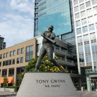 Tony Gwynn Guards The Park At The Park - KMF, Сан-Диего