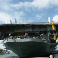 USS MIDWAY: impressive stern !, Сан-Диего