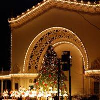 Christmas on the Prado, Сан-Диего