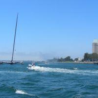 Americas Cup Challenger, Marina Park & Hyatt, Сан-Диего