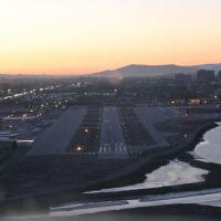 Landing Runway 30 KSQL San Carlos, Ca, Сан-Карлос