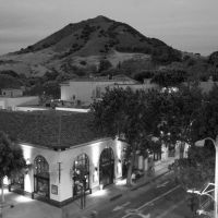 San Luis Obispo from Parking Garage, Сан-Луис-Обиспо