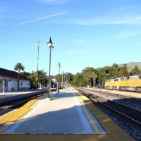 San Luis Obispo Railway Station, California - USA, Сан-Луис-Обиспо
