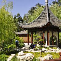 China Garden in the Huntington Libary , San Marino,CA, USA, Сан-Марино