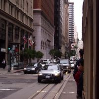 385 San Francisco, auf einem Cable Car in der California Street, Сан-Франциско