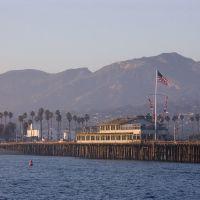 Stearns Wharf at Santa Barbara harbor, Санта-Барбара