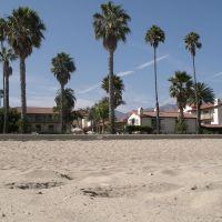 Palm trees and beach - Santa Barbara, Санта-Барбара