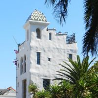 """La torre de la casa blanca"", Санта-Барбара"