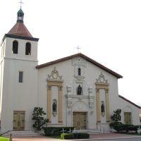 Mission Santa Clara, Santa Clara University, Santa Clara, California, Санта-Клара