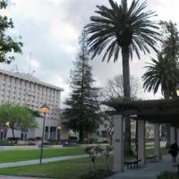 Benson Fountain Pano, Санта-Клара