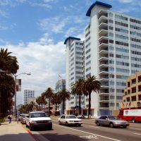 Los Angeles - Usa - Santa Monica, Ocean Avenue, Санта-Моника