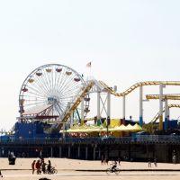 California - Santa Monica Pier, Санта-Моника