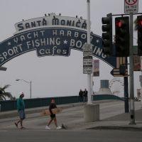 Santa Monica Pier Entrance, Санта-Моника