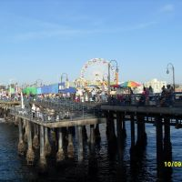 Santa Monica Pier, Los Angeles, Санта-Моника