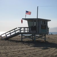 Life-guard tower, Santa Monica 08/07, Санта-Моника