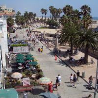 Venice Beach from Santa Monica Pier - ASIER IBAÑEZ, Санта-Моника