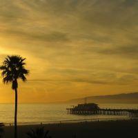 Sunset at Santa Monica, Санта-Моника