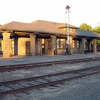 Santa Rosa Depot, Railroad Square District, Santa Rosa, CA, Санта-Роза