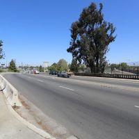 Standing on Florence Ave bridge looking westward.  (5-13-14), Санта-Фе-Спрингс