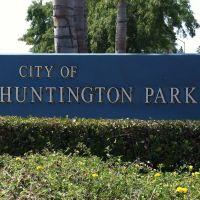 Huntington Park City Sign, Саут-Гейт