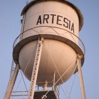 Artesia Water Tower, Серритос
