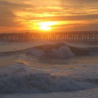 Seal Beach, big Wednesday, Сил-Бич