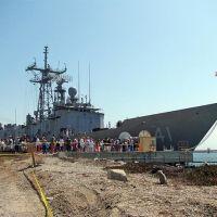 USS McKlusky, Сил-Бич