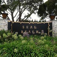 Seal Beach City Sign, Сил-Бич