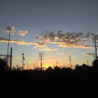 Stockton Sunset, Mormon Slough, Стоктон