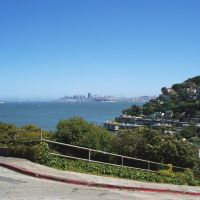 San Francisco skyline, Sausalito (6-2008), Сусалито