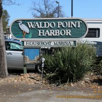 Waldo Point Harbor,  Sausalito near San Francisco (U.S.A.), Сусалито
