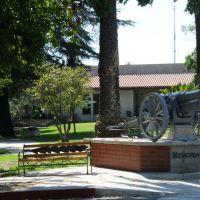 Sierra Madre, Memorial Park, Civil War Gun, Сьерра-Мадре