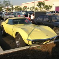 Chevrolet Corvette outside Target, Torrance, California., Торранц