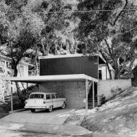 Lamel House - 1953 - Pierre Koenig Architect, Флинтридж