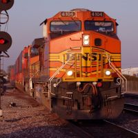 BNSF Train, Фуллертон