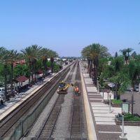 Amtrak and metrolink tracks, Фуллертон