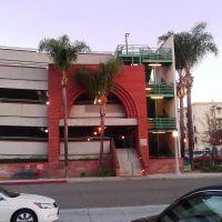 East Parking Structure, Fullerton Transportation Center, Fullerton, California (2013-02-04), Фуллертон