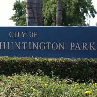 Huntington Park City Sign, Хантингтон-Парк