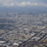Los Angeles from above, Хантингтон-Парк