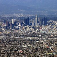 aerial view Los Angeles 2, Хантингтон-Парк