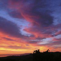 WIldcat canyon sunset -2 05/08, Эль-Серрито