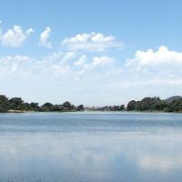 Berkeleys Aquatic Park Lagoon from the South, Эмеривилл