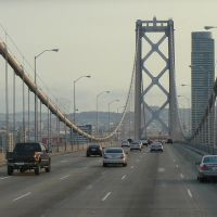USA: San Francisco-Oakland Bay Bridge, Эмеривилл