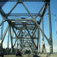 Bay Bridge seen from Oakland, Эмеривилл